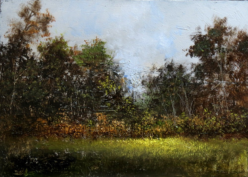 """The Clearing in the Woods"" original fine art by Bob Kimball"
