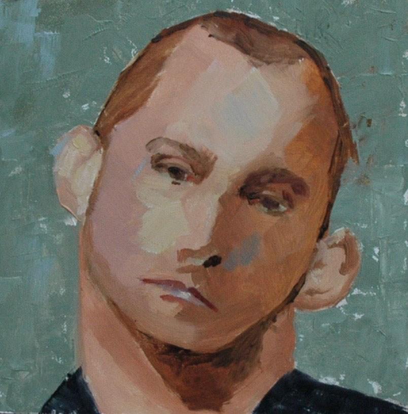 """""""FACE No. 104"""" original fine art by Linda Popple"""