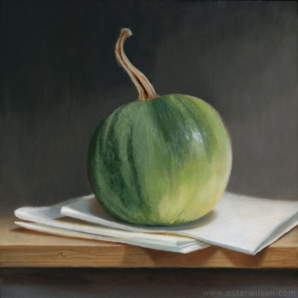 """Green Harvest"" original fine art by Ester Wilson"