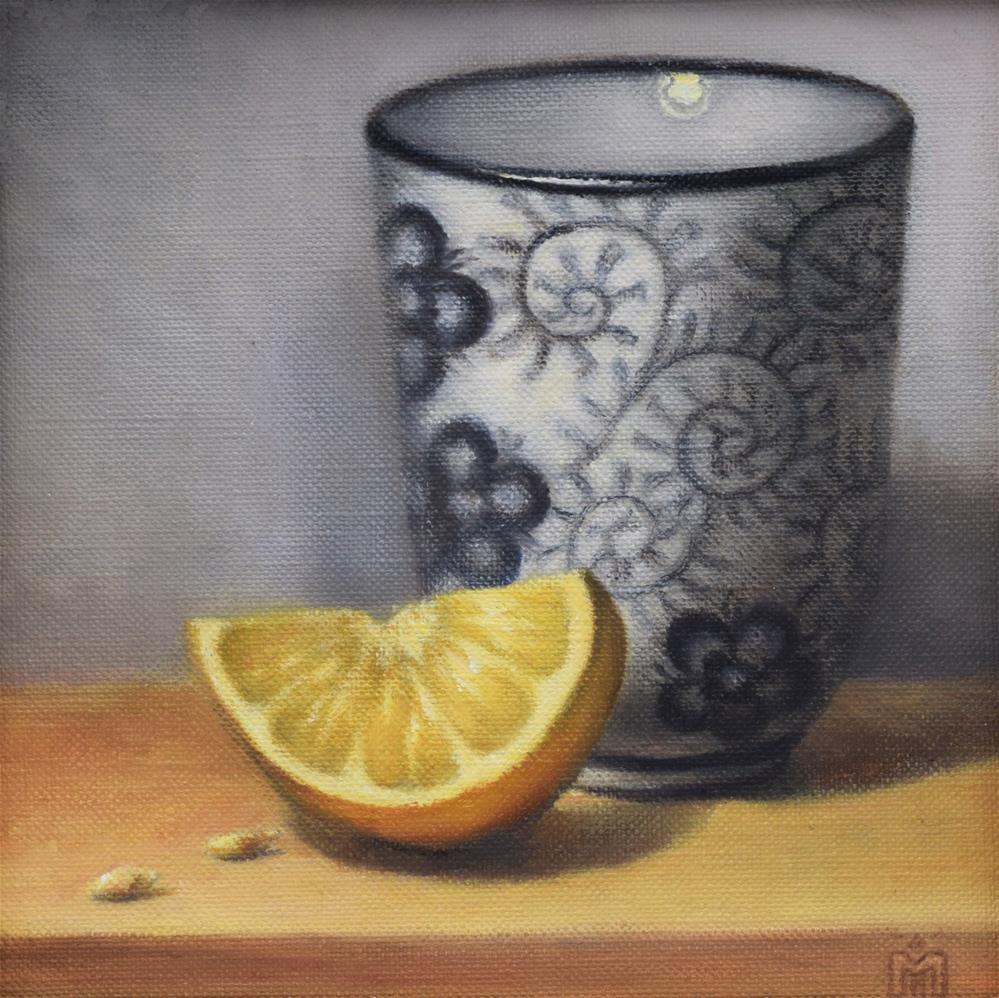 """Tea Time"" original fine art by Melissa  Imossi"