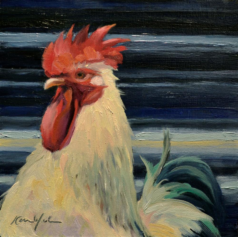 """""""The Head Bird"""" original fine art by Karen Weber"""