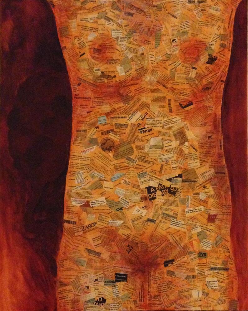 """Invisible Pieces"" original fine art by Madeleine Hoffmeister"