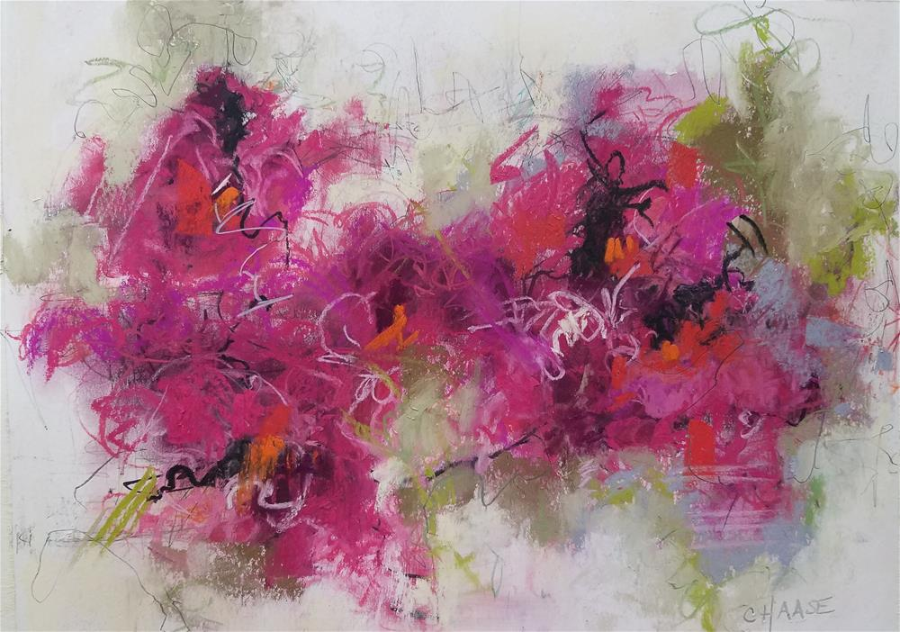 """Em's Garden II"" original fine art by Cindy Haase"