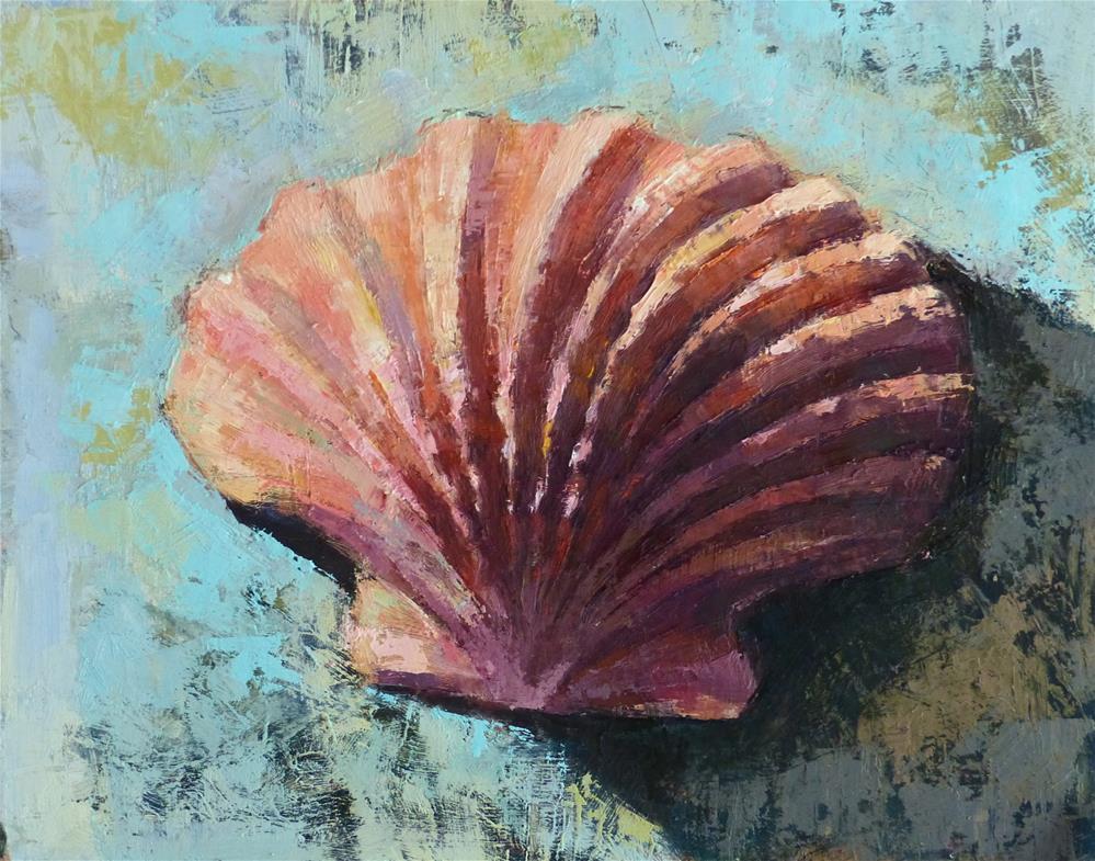 """""""Shell #5"""" original fine art by Katya Minkina"""