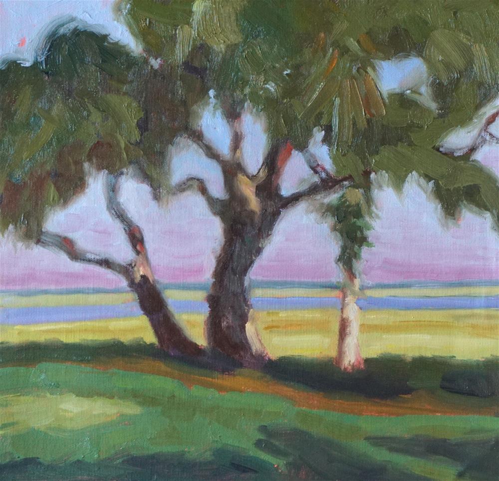 """MULLIGAN"" original fine art by Judy Elias"
