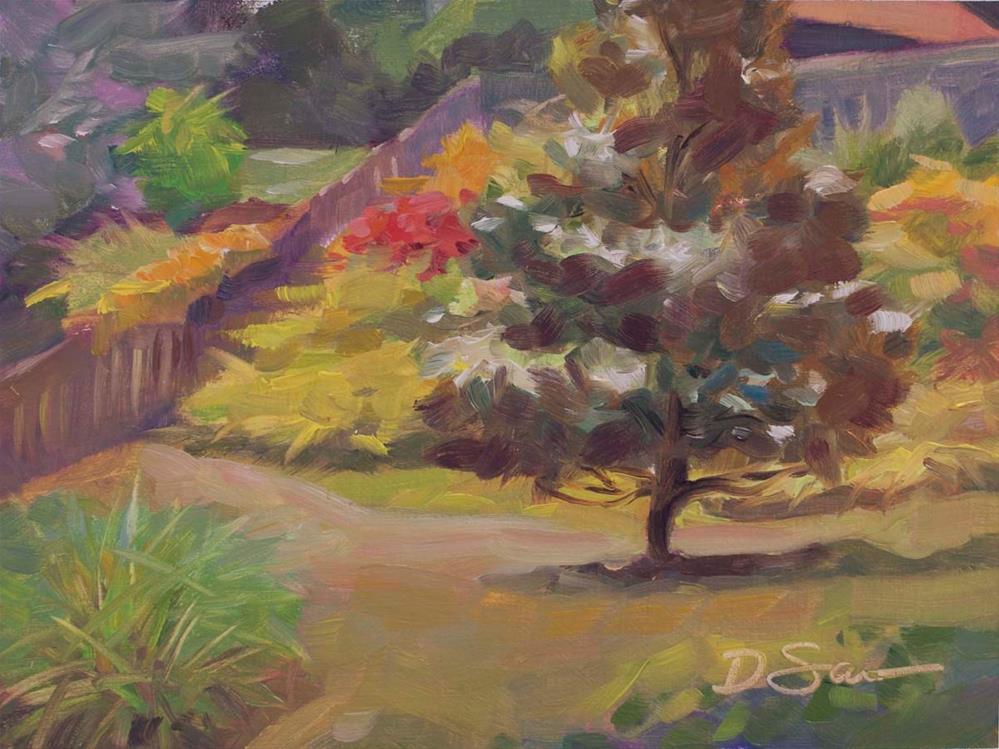 """Magnolia Tree 2"" original fine art by Deborah Savo"