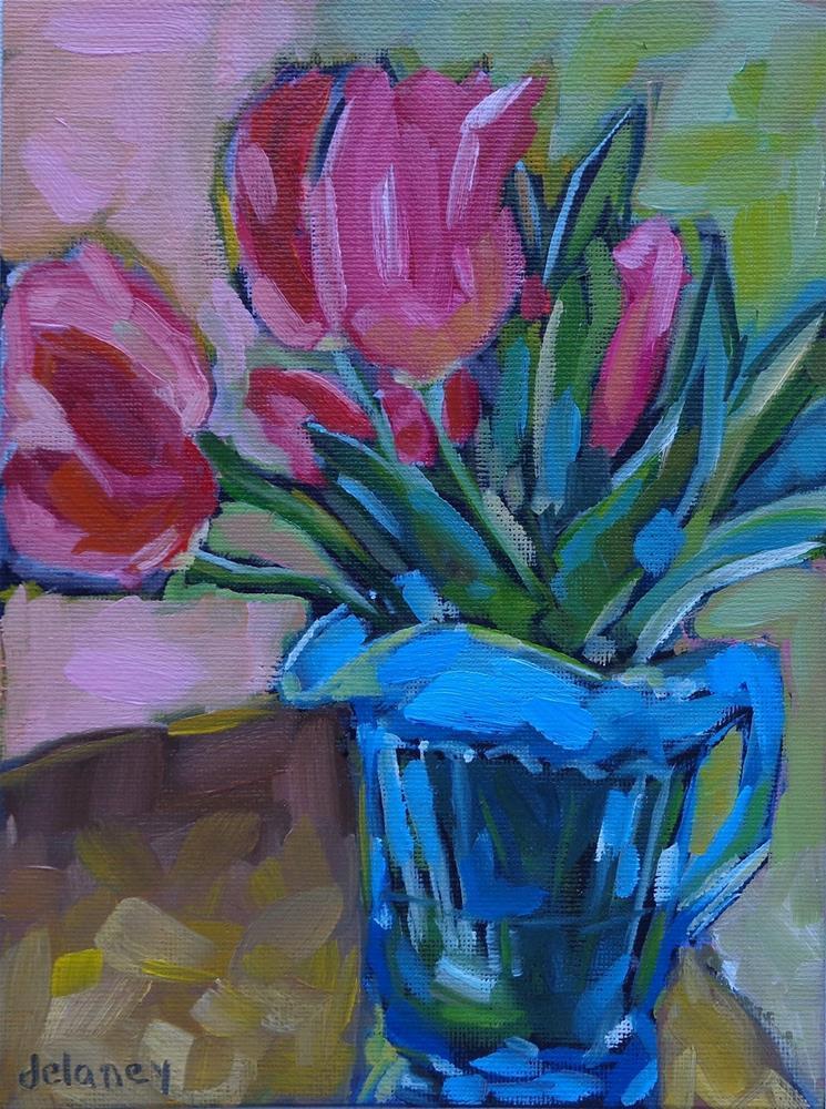 """COMPLETE"" original fine art by Jean Delaney"