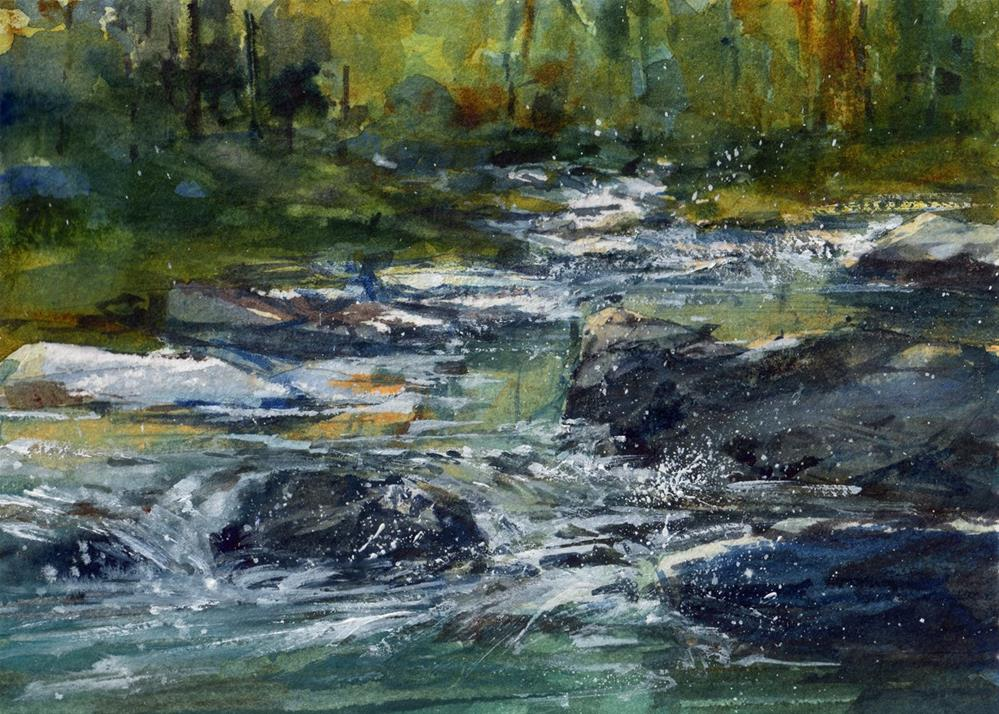 """A Midsummer Night's Dream"" original fine art by Linda Henry"