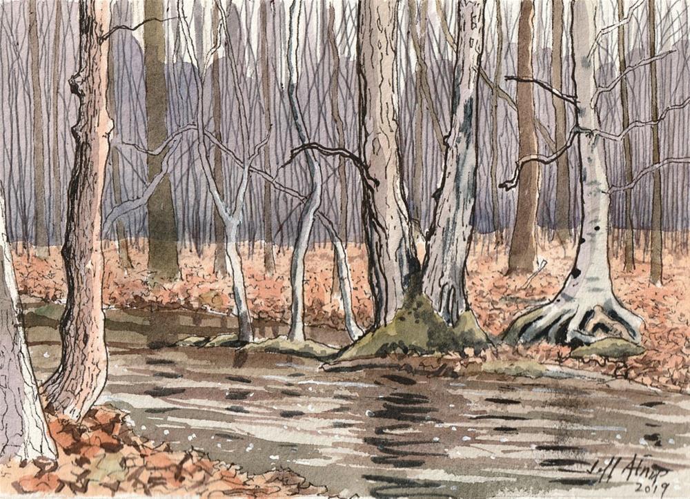 """After The Rain"" original fine art by Jeff Atnip"