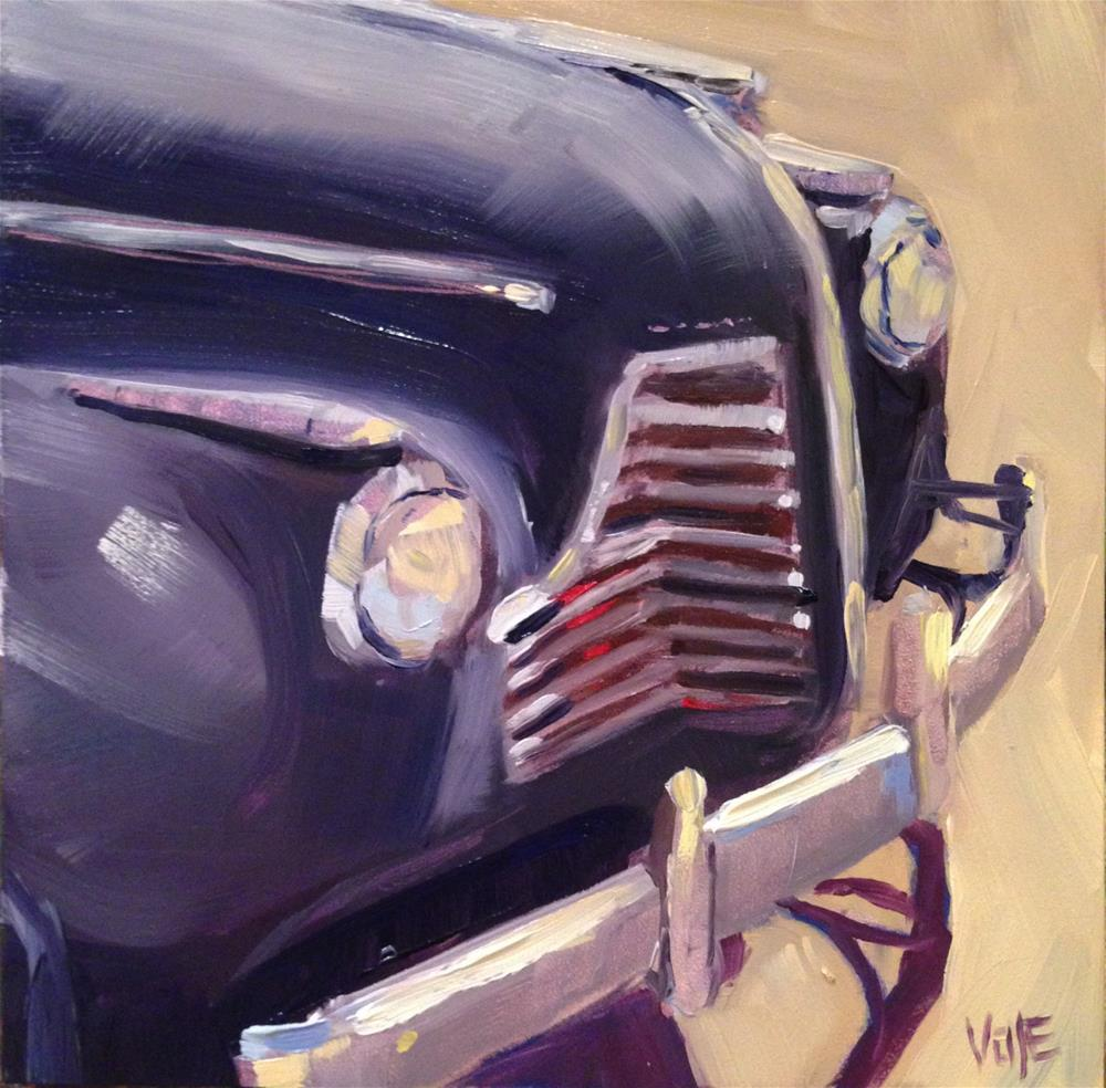 """#82 Hit the Road"" original fine art by Patty Voje"