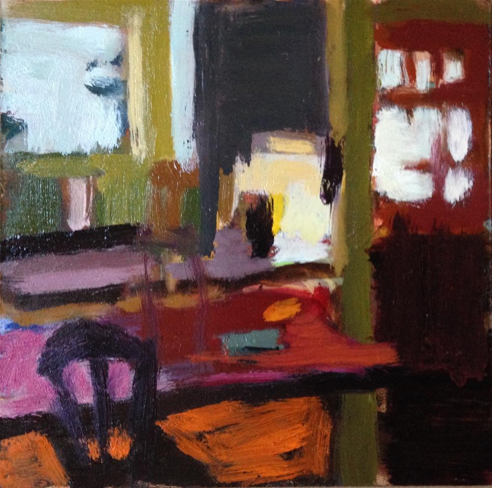 """Morning Kitchen"" original fine art by Pamela Hoffmeister"