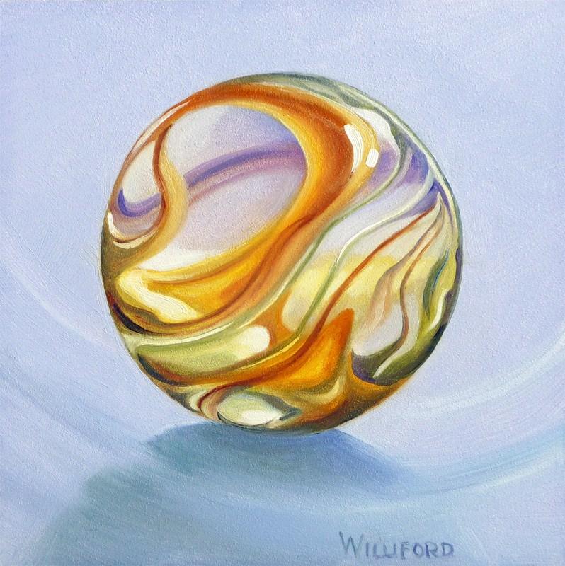 """Marble #2"" original fine art by Kathleen Williford"