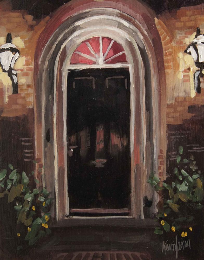 """Black Door"" original fine art by Kevin Larson"