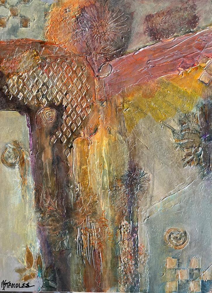 """Rejoice 11051"" original fine art by Nancy Standlee"