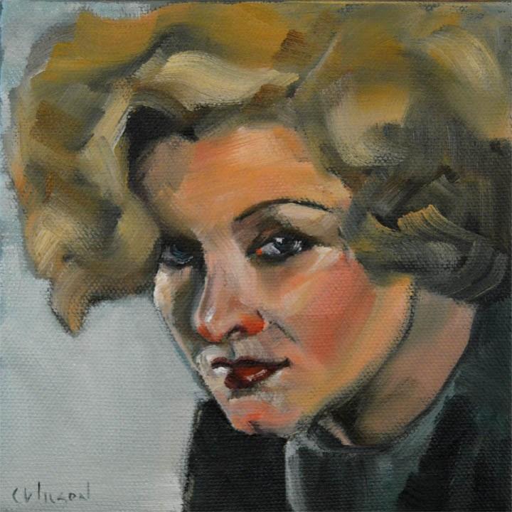 """Loy"" original fine art by Cheryl Wilson"