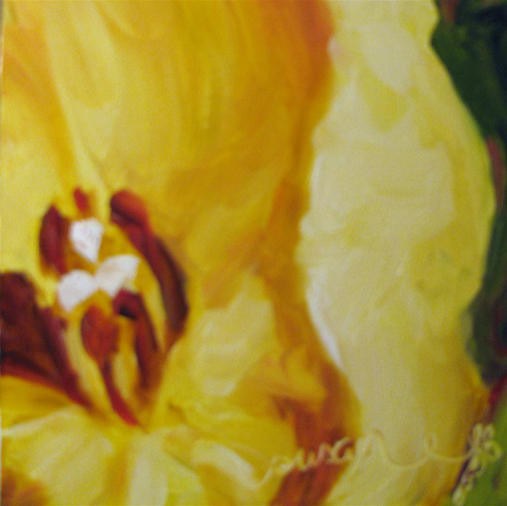 """Little Cup of Light"" original fine art by Susan Elizabeth Jones"