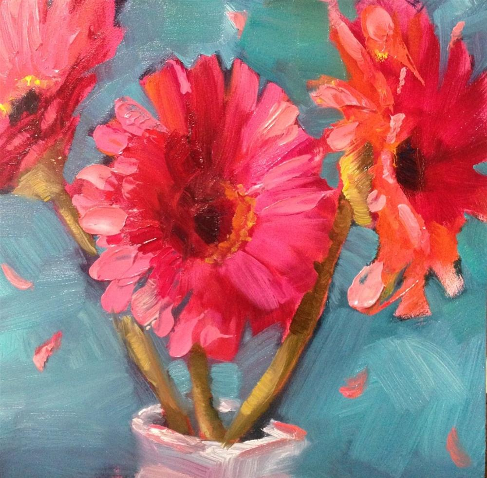 """""""In you is gladness"""" original fine art by Krista Eaton"""