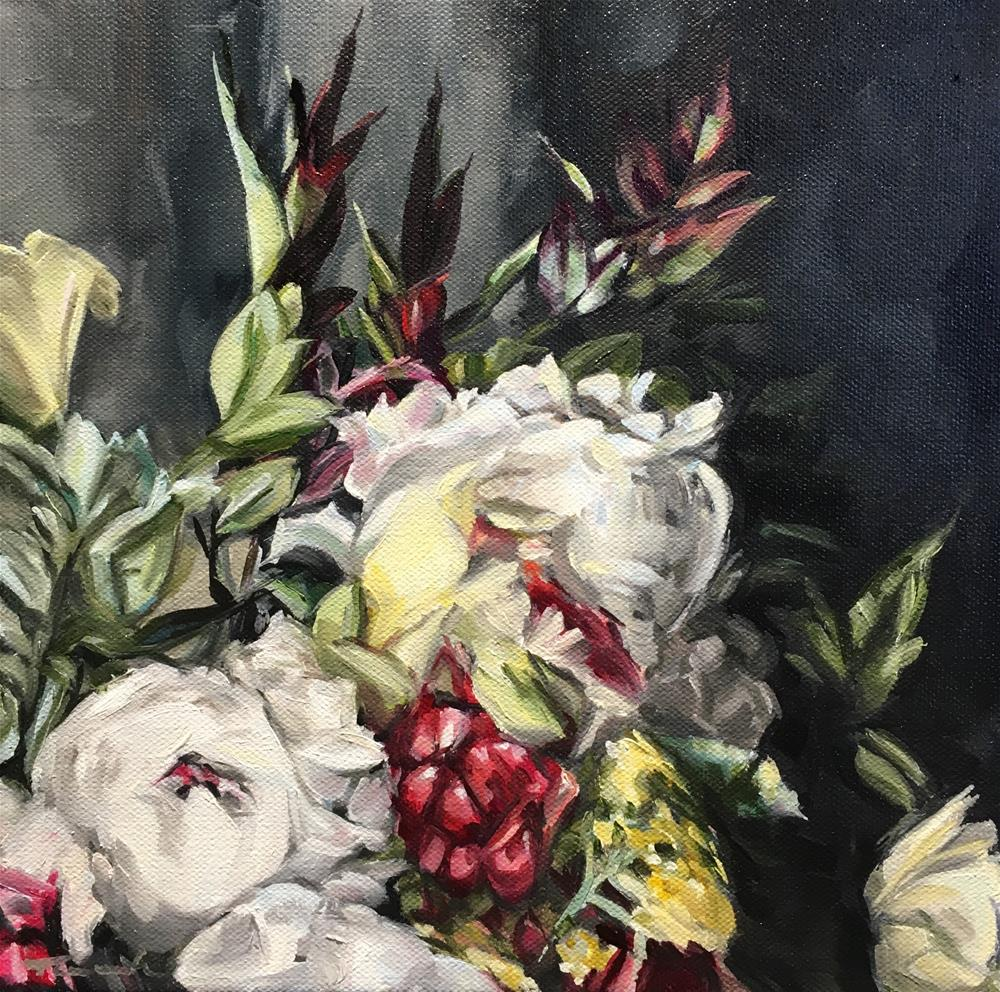 """""""Vintage Winter (19-33)"""" original fine art by Tamanda Elia"""