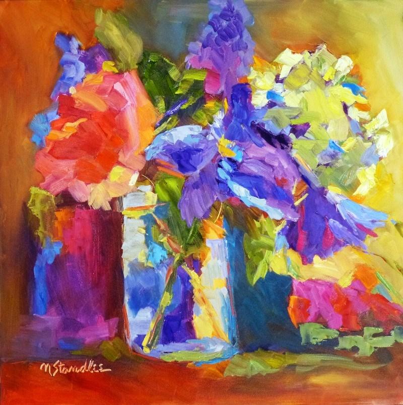 """My Kentucky Rose 13052 SOLD"" original fine art by Nancy Standlee"