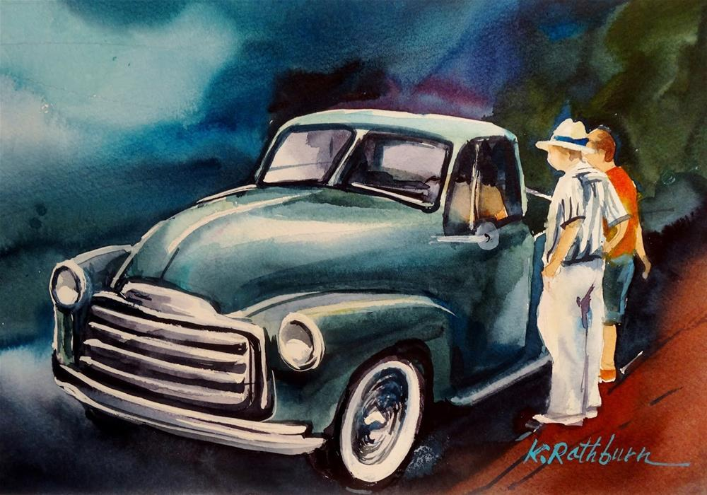 """""""Ol' Friends"""" original fine art by Kathy Los-Rathburn"""
