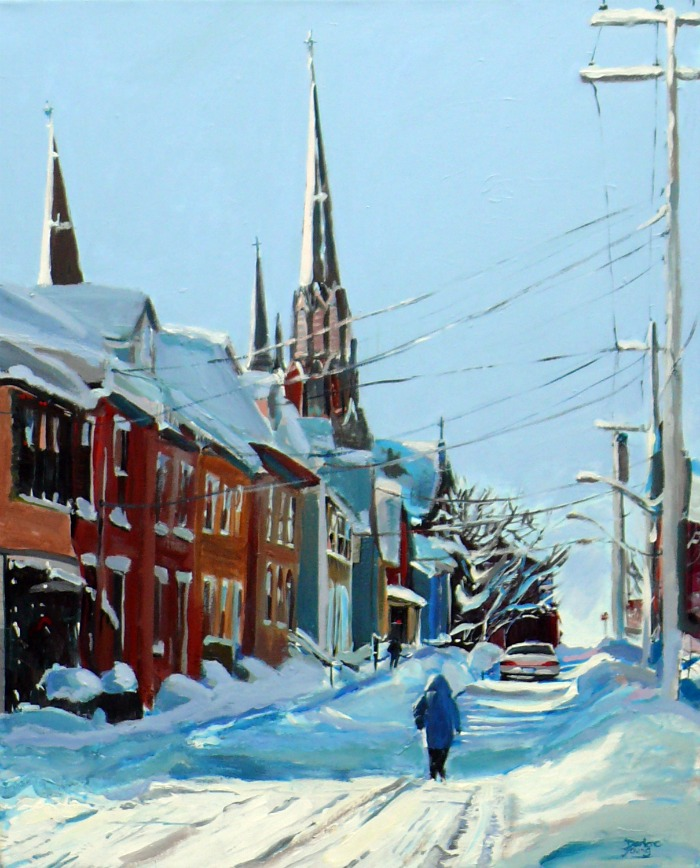 """Charlottetown"" original fine art by Darlene Young"