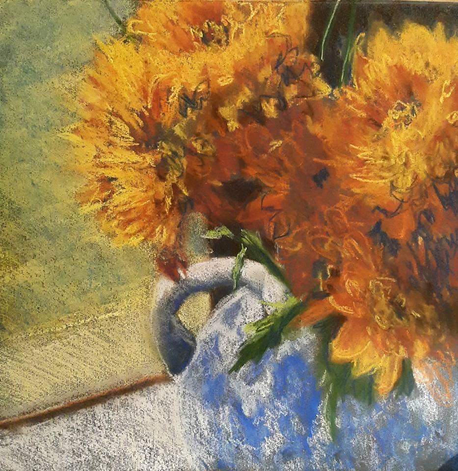 """""""Happiness"""" original fine art by Rentia Coetzee"""