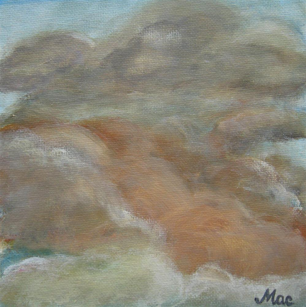 """""""Up In The Sky"""" original fine art by Alina Frent"""