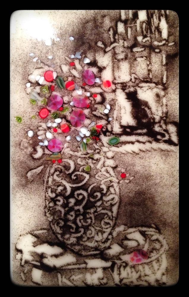"""""""Kitty in the Window"""" original fine art by Kelly Alge"""