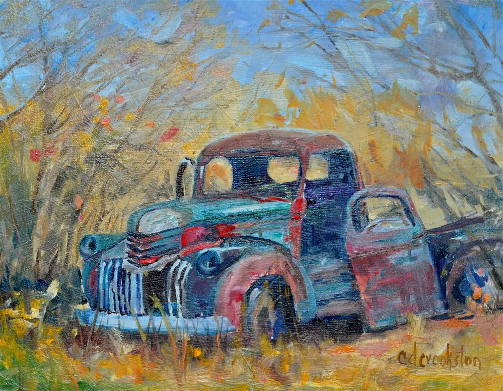 """Gave Its All"" original fine art by Catherine Crookston"
