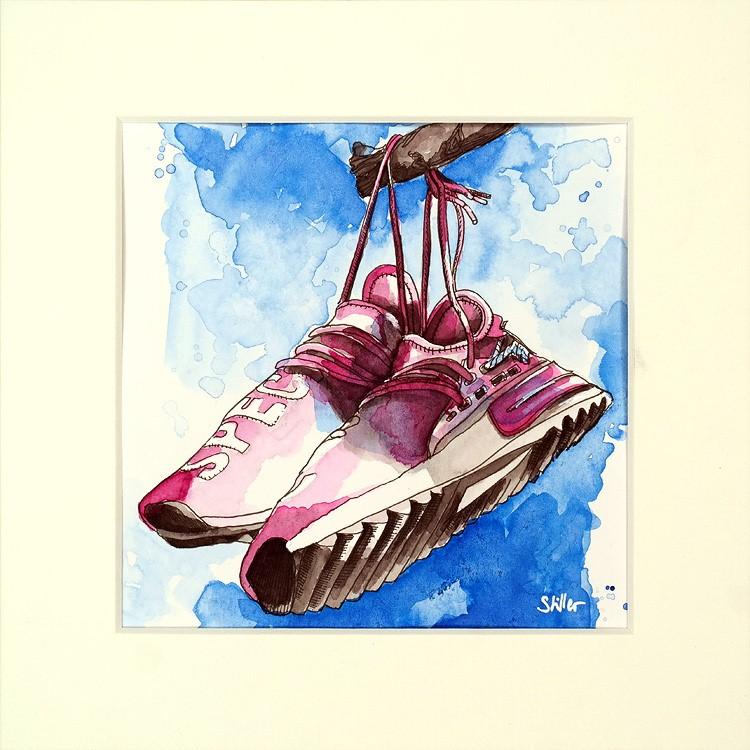 """3387 Pairs Four"" original fine art by Dietmar Stiller"