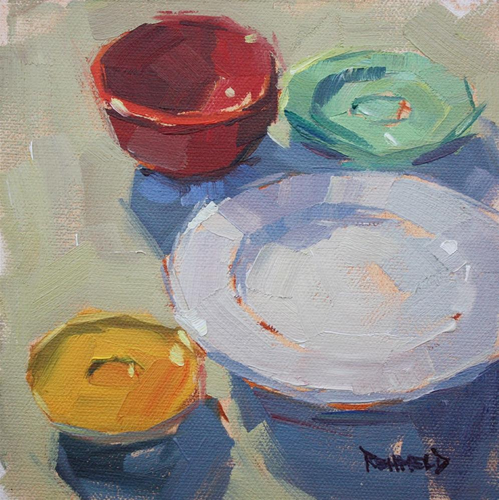 """Fun With Ellipses"" original fine art by Cathleen Rehfeld"