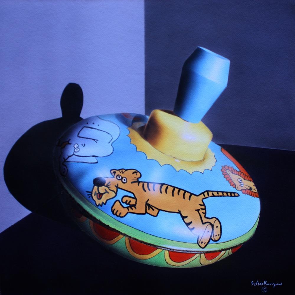 """Animal Top"" original fine art by Fred Schollmeyer"