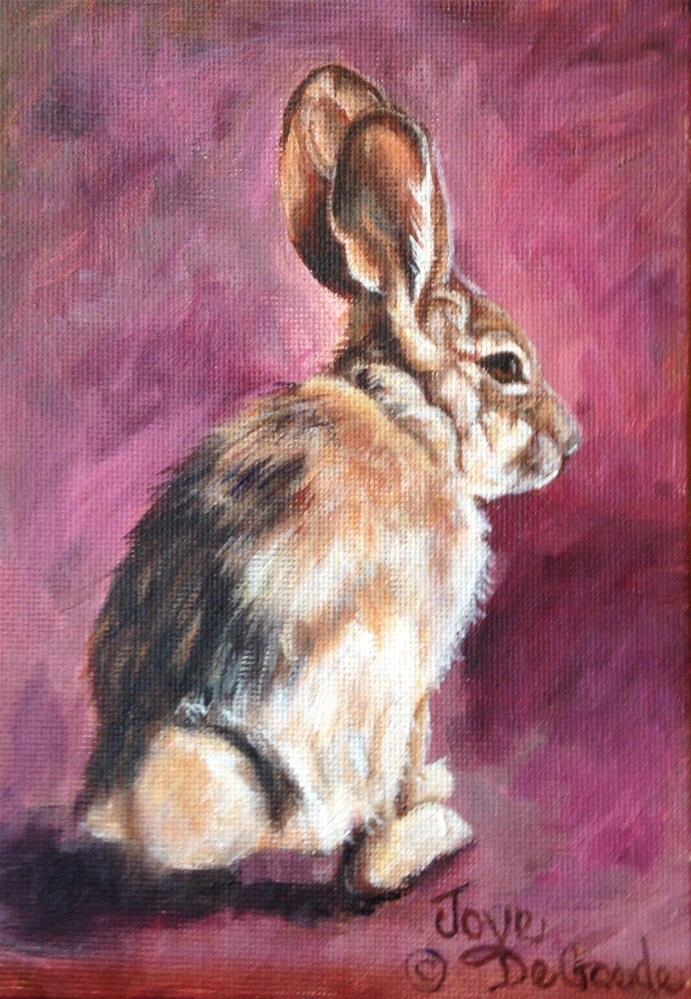"""""""Hedda Hopper (c) by Joye DeGoede"""" original fine art by Joye DeGoede"""
