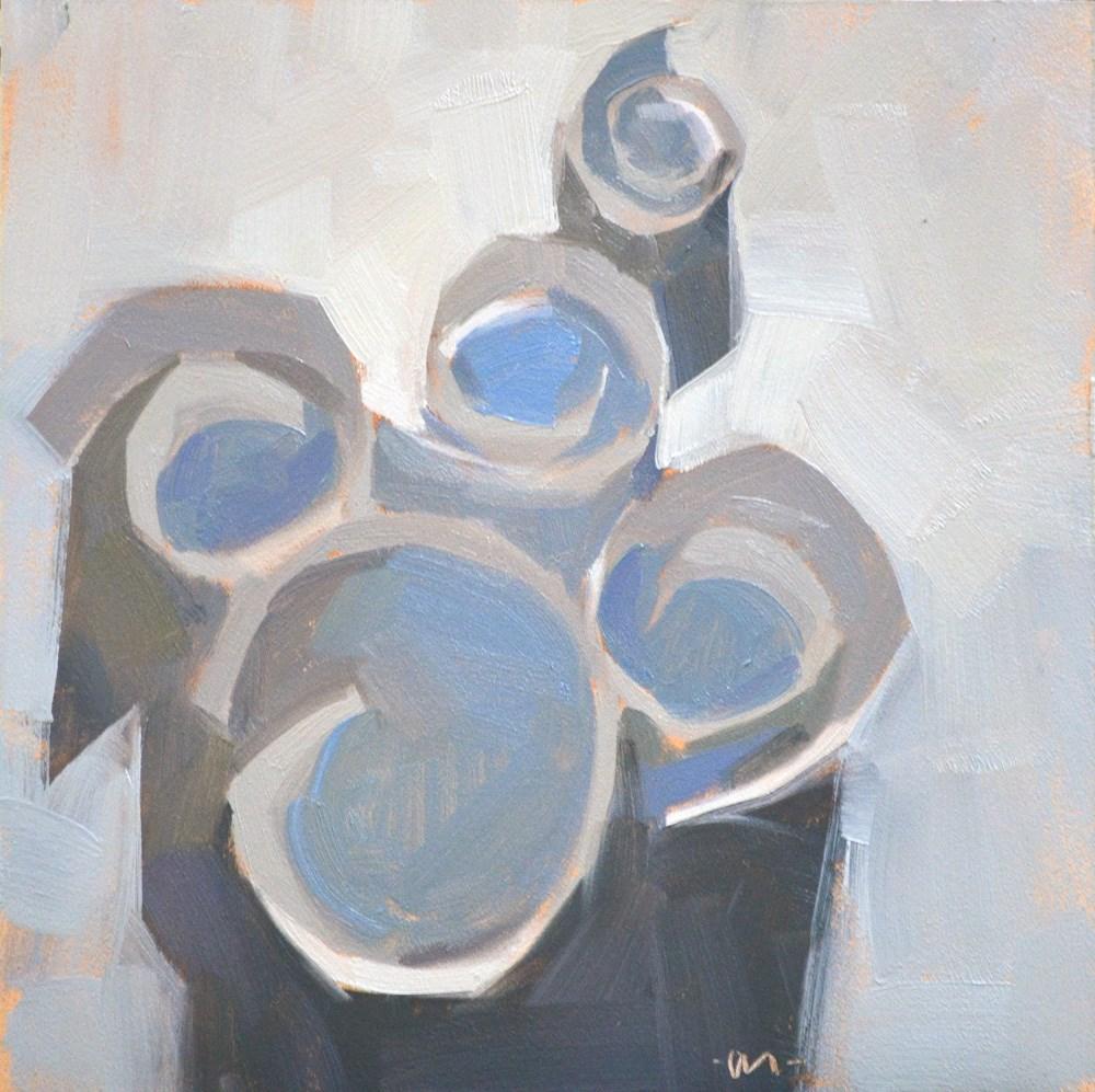 """Curly Whirlies"" original fine art by Carol Marine"