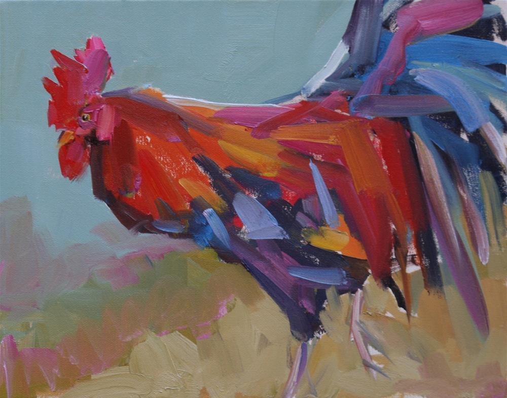 """harried"" original fine art by Carol Carmichael"