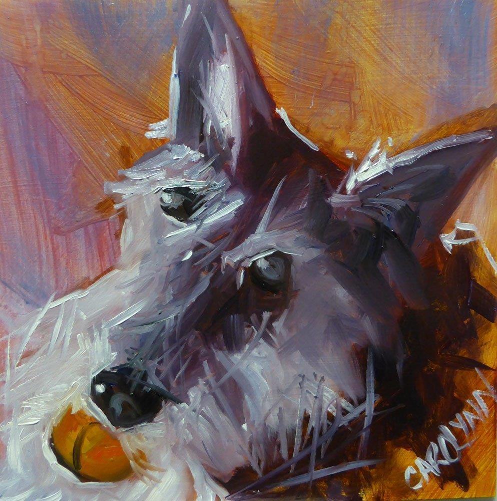 """""""Old And Wise"""" original fine art by Carolynn Doan"""