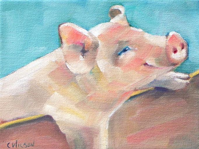 """Sour Mash"" original fine art by Cheryl Wilson"
