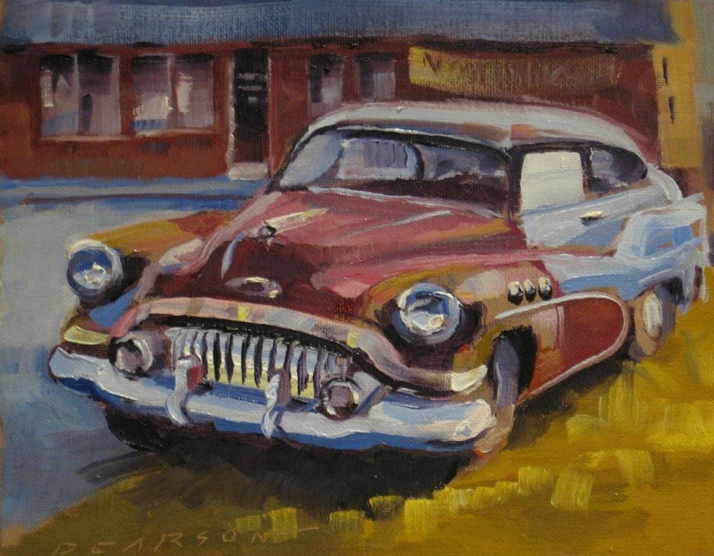 """""""Still Runs"""" original fine art by Dennis Pearson"""