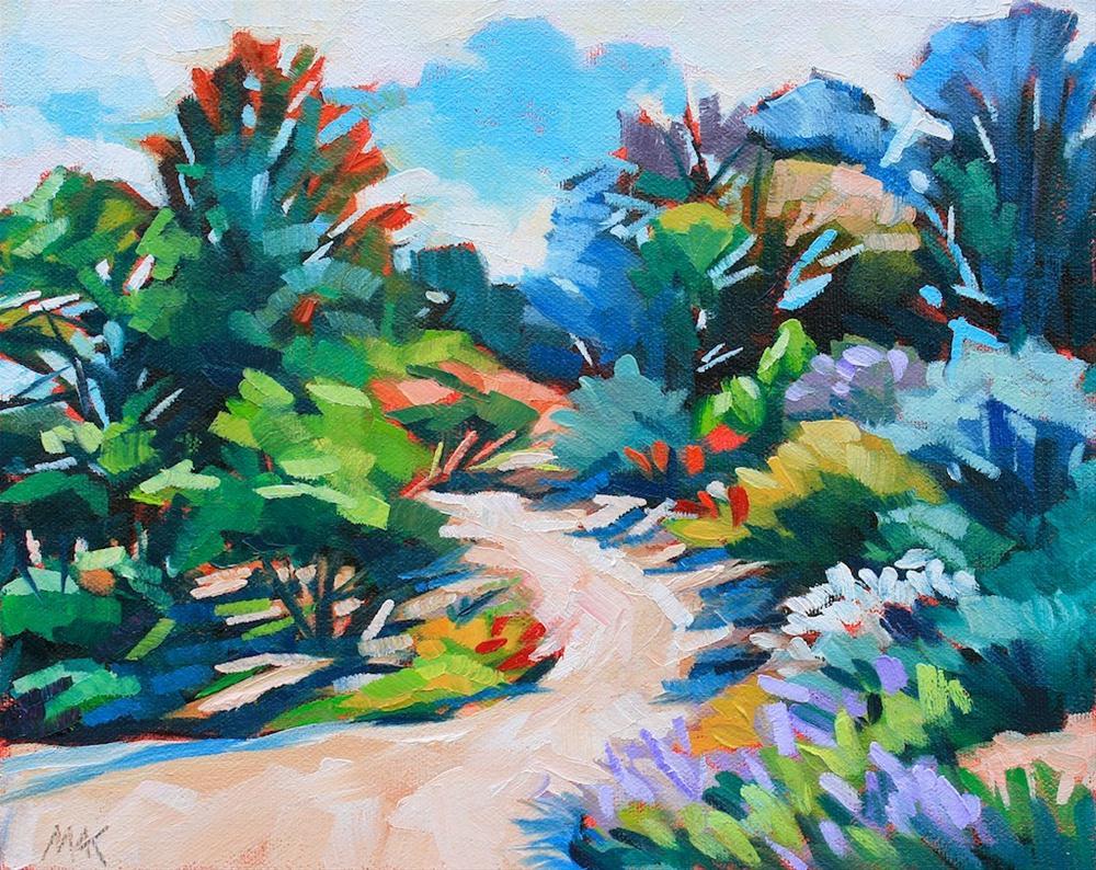 """San Diego Botanical Garden"" original fine art by Mary Anne Cary"