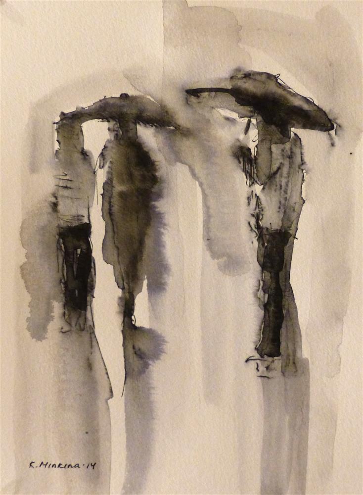 """urban14"" original fine art by Katya Minkina"