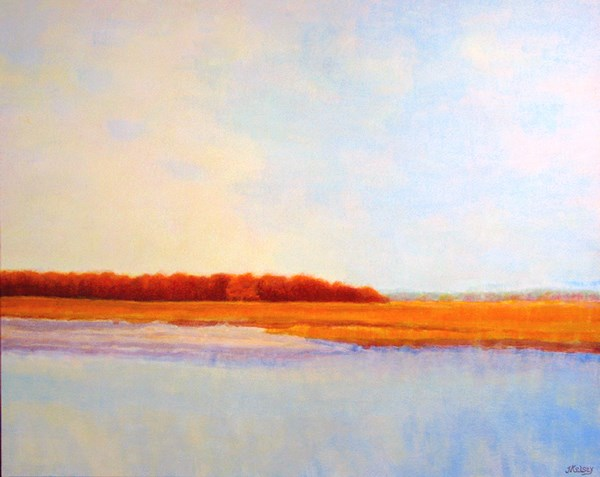 """Parson's Beach (2)"" original fine art by J Kelsey"