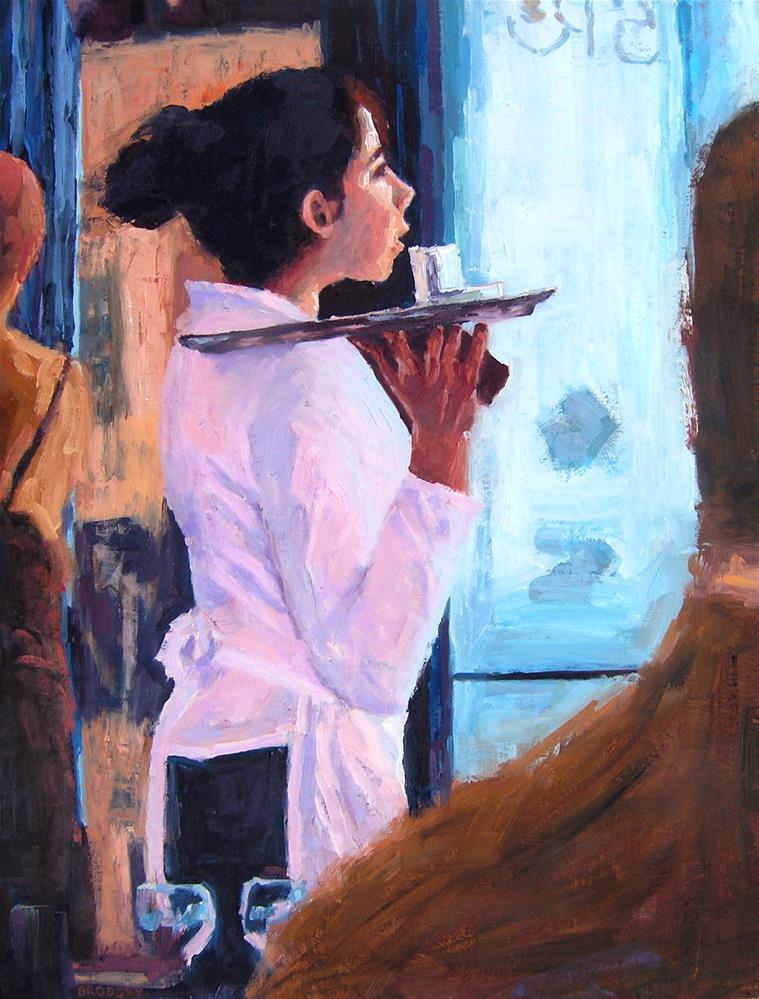 """Pilar's Window"" original fine art by Nina Brodsky"