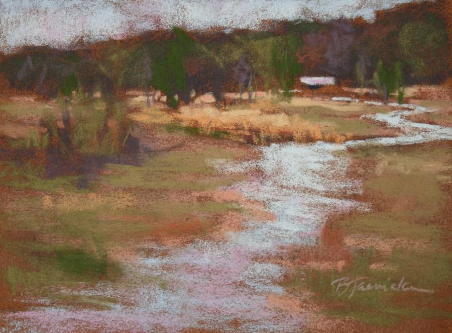 """The Long and Winding Road III"" original fine art by Barbara Jaenicke"