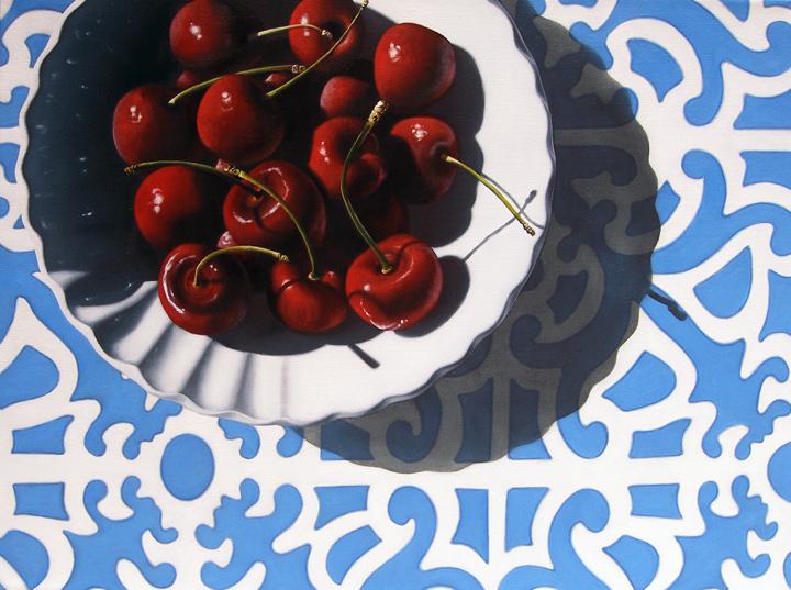 """End of Summer"" original fine art by Jelaine Faunce"