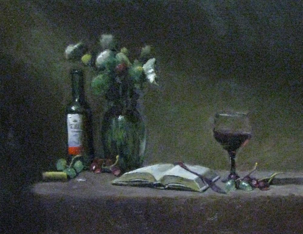 """light study #615"" original fine art by tom dawson"