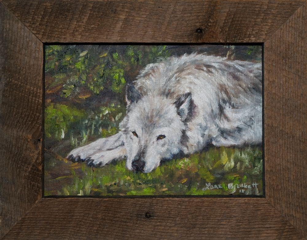 """Watchful Rest"" original fine art by Lori Brackett"