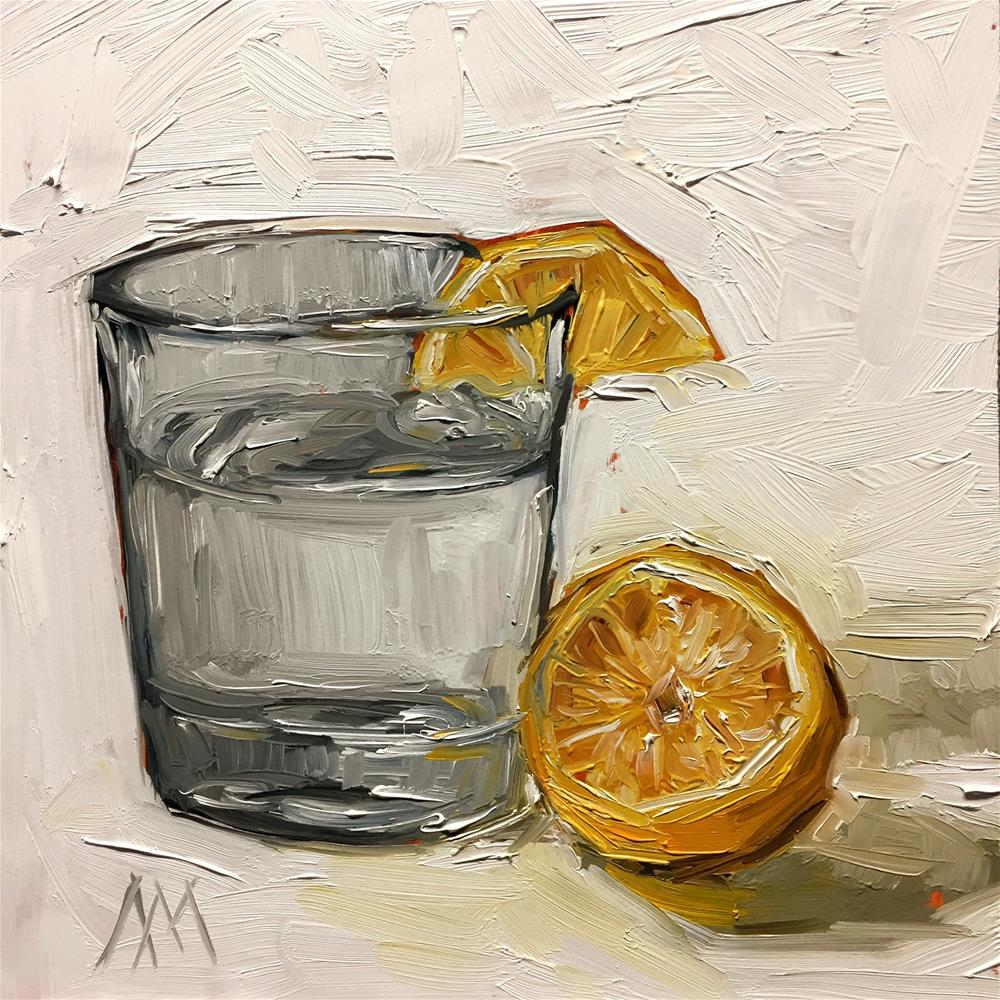 """Lemon Water"" original fine art by Austin Maloney"