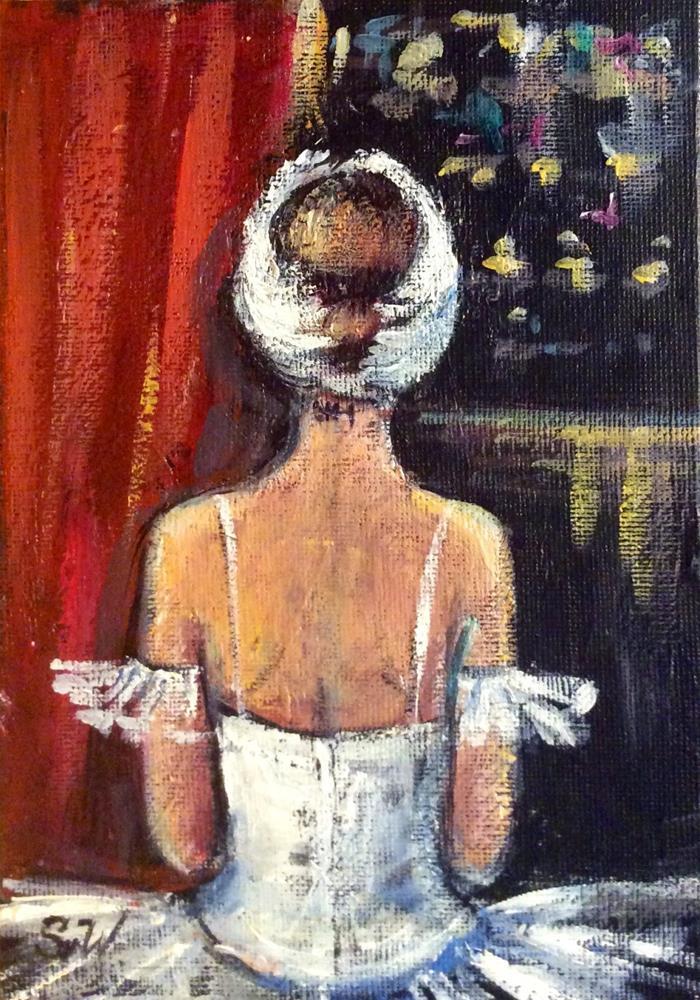 """""""Ballet painting"""" original fine art by Sonia von Walter"""