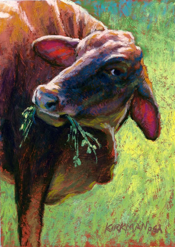 """Grazer"" original fine art by Rita Kirkman"
