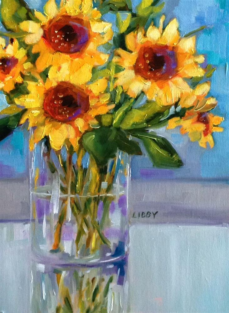 """Sunshine Statement"" original fine art by Libby Anderson"